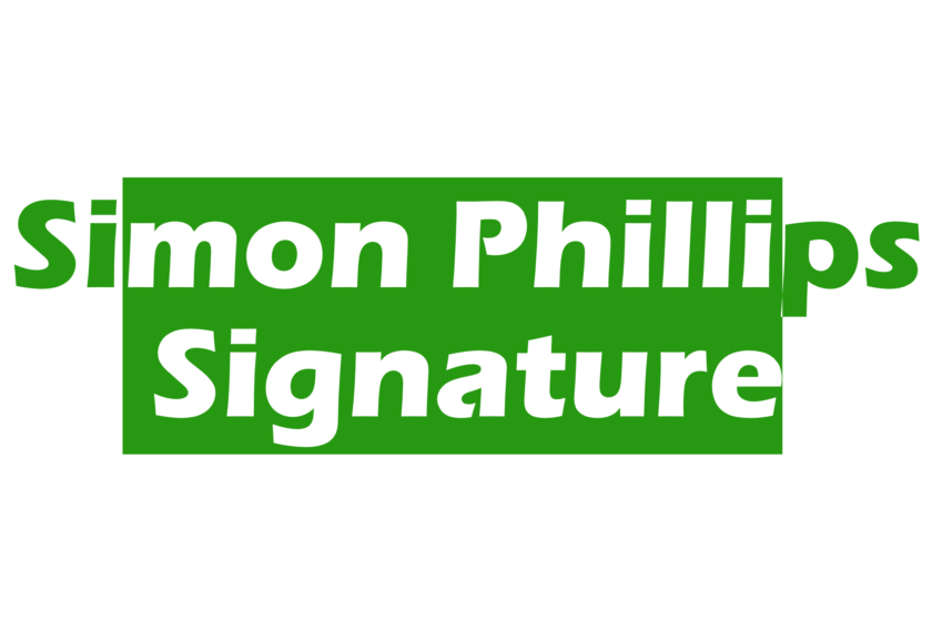 Simon Phillips signature sounds